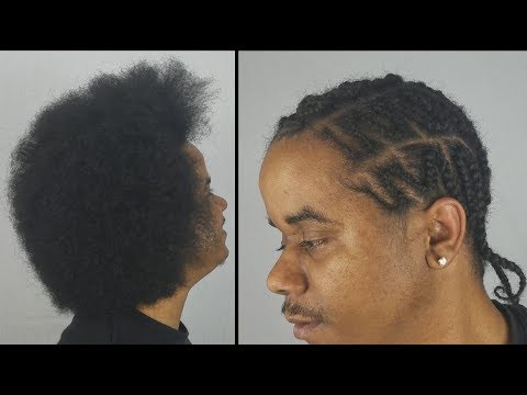Zig Zag Braids | Natural Hair