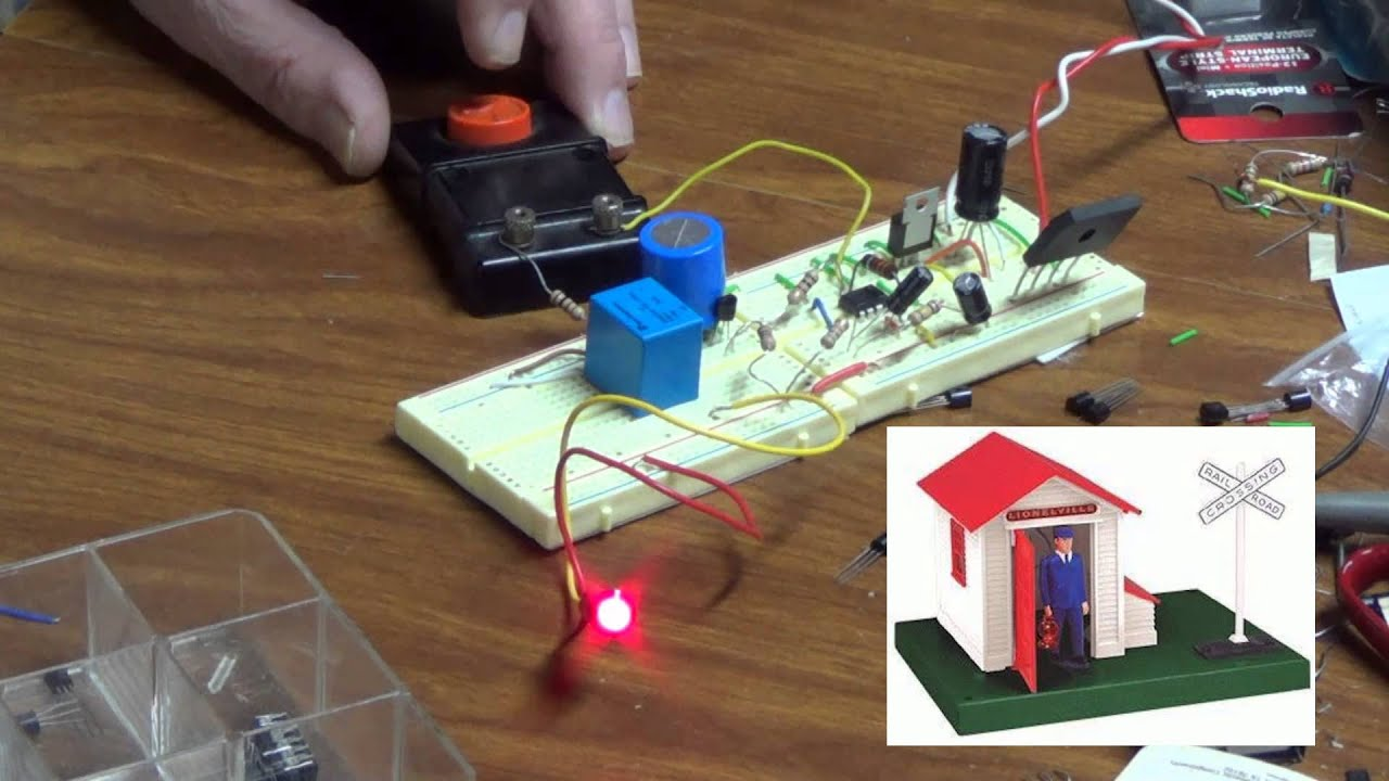 Electronic Circuit for the the Lionel Trains Automatic Gateman – Lionel Electronic Wiring Schematics