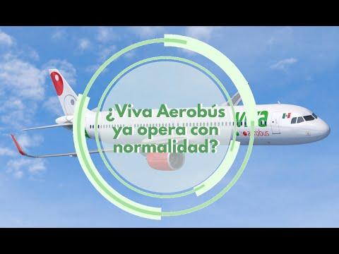 ¿Viva Aerobus ya opera con normalidad?