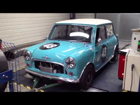 mini cooper s fia banc moteur youtube. Black Bedroom Furniture Sets. Home Design Ideas