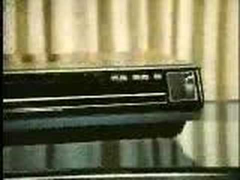 RCA Selectavision CED operation
