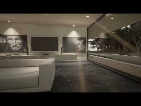 UNREAL ENGINE. Prefabricated House Mod 008 Video 002.