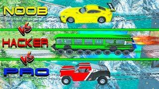 NOOB vs PRO vs HACKER crashes #10 - Beamng drive (cars crashes)