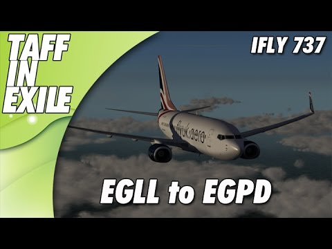 P3D | Ifly 737 700NG | Heathrow EGLL - Aberdeen EGPD