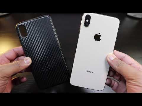 apple-iphone-10s-max-carbon-fiber-leather-ish-case