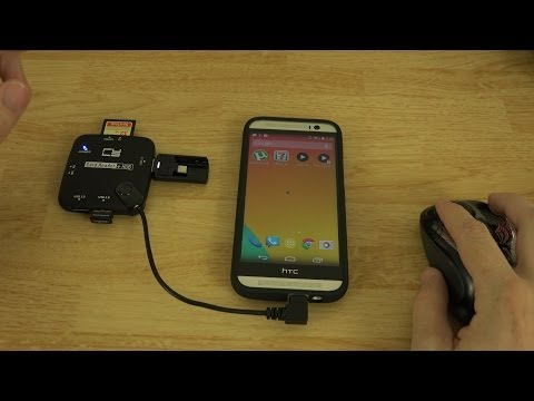 Micro USB OTG 3-Port Hub with Card Reader (Unboxing and Demonstration)