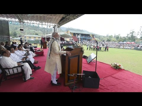 PM Narendra Modi to address Indian Origin Tamil Community at Norwood Ground in Norwood, Sri Lanka