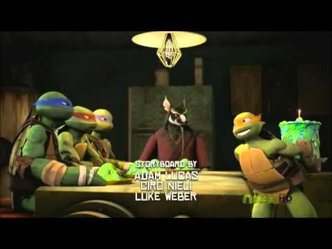 Teenage Mutant Ninja Turtles 2012) Episode 2 Rise Of The Turtles   Part 1