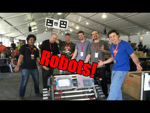 Robots! (Nasa Robotic mining competition)