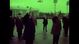 احمد حسن البكر في موسكو عام 1972