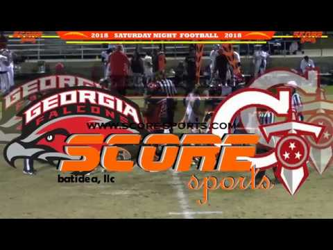 Georgia Falcons vs Georgia Titans SNF18 Pre-Season 2/17/18