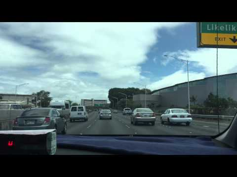 Driving to Honolulu Airport