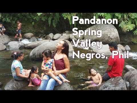 travel  vlog @Pandanon Spring Valley, Negros, philippines