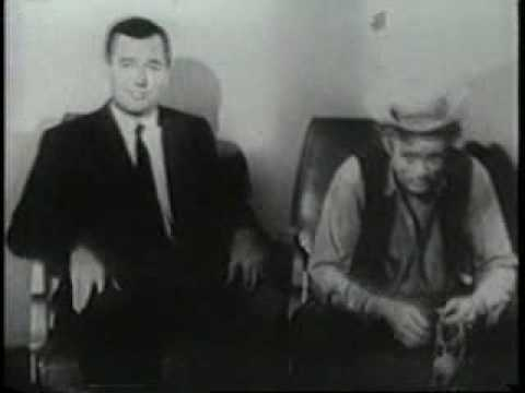 James Dean and Gig Young Talk Auto Safety