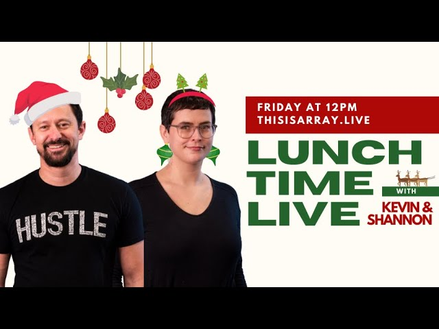 2020 Holiday Marketing - Lunchtime Live