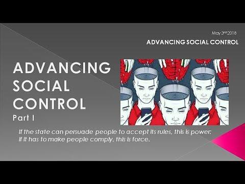 MACRO ANALYTICS - 05-03-18 - Advancing Social Control - Part I  w/Charles Hugh Smith