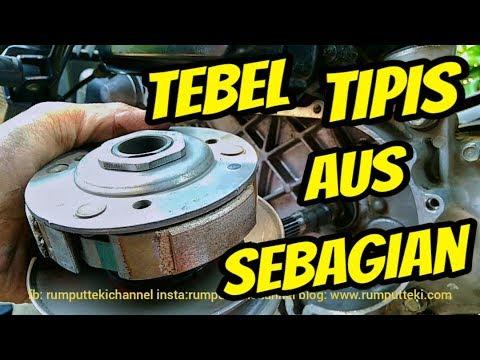 Ciri Kampas Kopling Motor Matic Habis Youtube