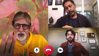 Amitabh Bachchan Gets ANGRY on Ayushmann Khurrana During Gulabo Sitabo Trailer Launch