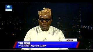 Anti Corruption Fight: Tope Fasua Lambasts President Buhari Over
