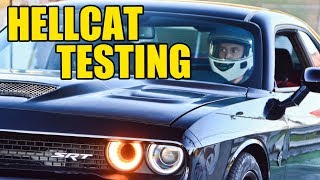 Goonzquad Drag Races Their Rebuilt 2017 Dodge Hellcat