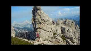Julian Alps: Rifugio Corsi and Ferrata Centenario