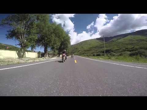 Motorhead Tekken (King of dual sport motorcycles) is tested in Tibet