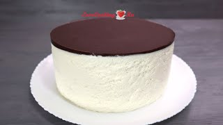 Домашний СМЕТАННЫЙ ТОРТ Шоколадный бисквит Кастелла сметанный мусс LoveCookingRu