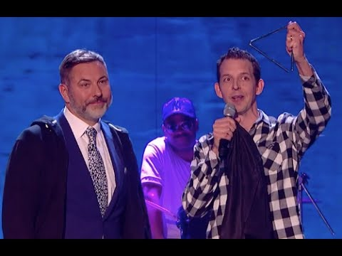 The Most AWSUM Song EVER With David's Help and The Triangle!   Semi Final 4   BGT 2017