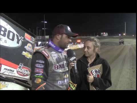 2015 World of Outlaws Sprint Car Series Victory Lane from Lebanon Valley Speedway