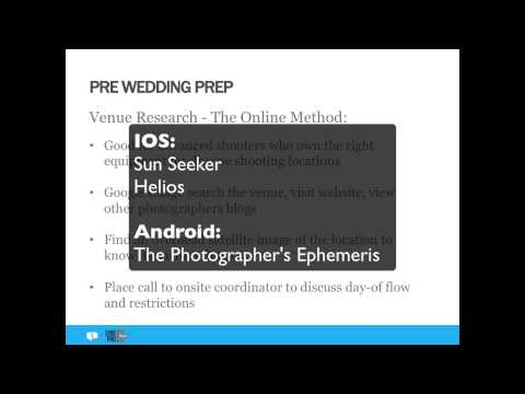 The Wedding Photographer's Pre-Event Checklist with LensProT