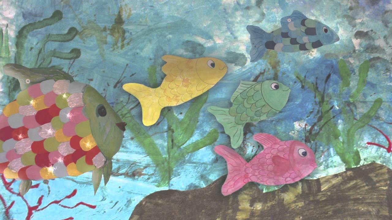 Il pesciolino arcobaleno youtube for Disegni pesciolino arcobaleno