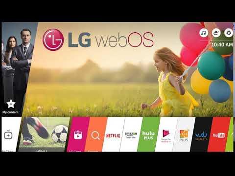 طريقة نقل قنوات تلفزيون الـ جي ويب او اس الذكية Lg Webos Tv Smart