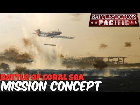Battlestations: Pacific Mission Idea/Concept: Battle of Coral Sea (Saving the Shoho)