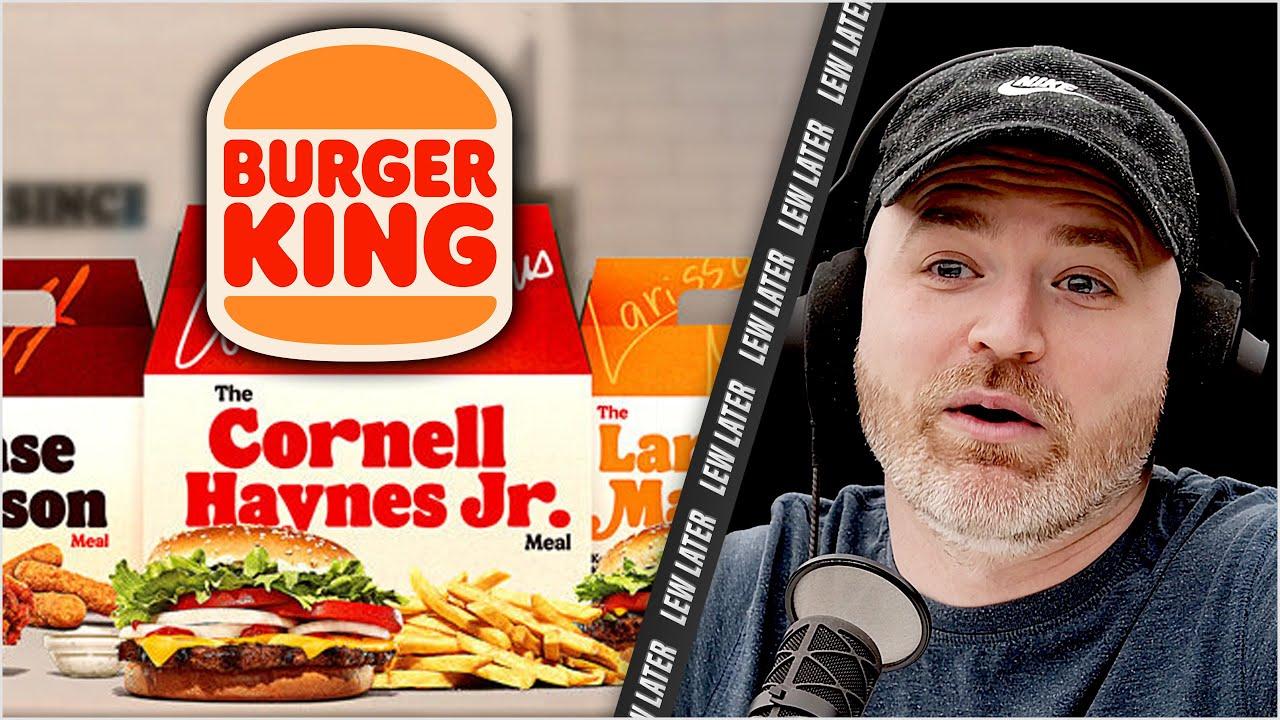 Burger King Unveils 3 New Celebrity 'Real Meals'...