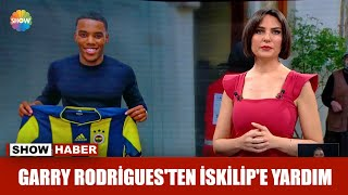 Garry Rodrigues'ten İskilip'e yardım