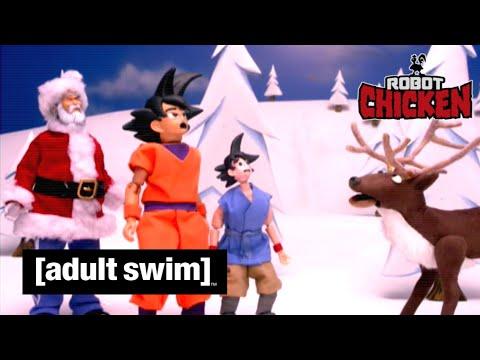 Adult Swim VF - Robot Chicken 🇫🇷 | Les meilleures vidéos spéciales Noël - Partie 4