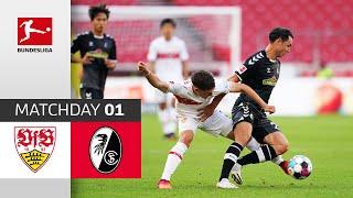 #vfbscf   highlights from matchday 1!► sub now: https://redirect.bundesliga.com/_bwcs watch the bundesliga of vfb stuttgart vs. sc freiburg m...