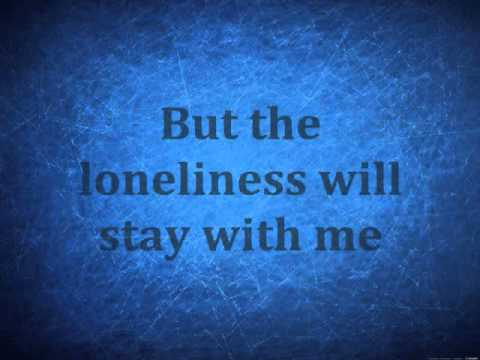 The Lonely- Christina Perri, Lyrics