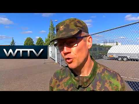 Finland: Army and police take part in joint training exercise in Turku