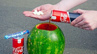 5 CRAZY EXPERIMENTS With Coca Cola thumbnail