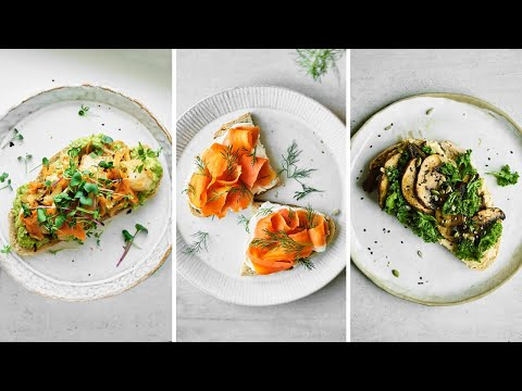 Vegan Open Faced Sandwiches: My Three Favourite Combos | Good Eatings