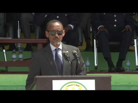President Kagame attends the 17th Rwanda National Police Anniversary celebrations
