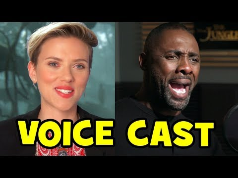 Go Behind The Scenes with THE JUNGLE BOOK Voice Cast Actors - Voice Recording