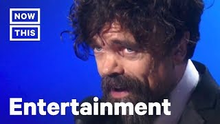 Peter Dinklage Gives Moving Speech After Breaking an Emmys Record | NowThis