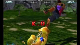 Tekken 3 ( PS1 ) - Gon - Arcade Mode - Original Music ( Dec 19, 2017 ) thumbnail
