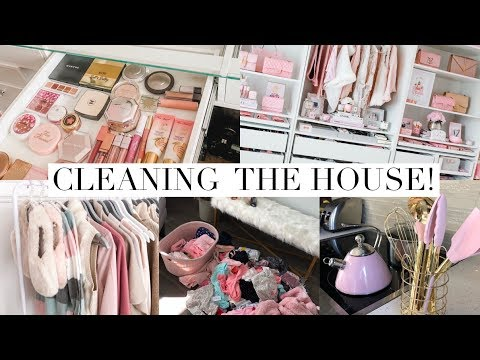 DAY IN THE LIFE! CLEANING MY HOUSE🏡