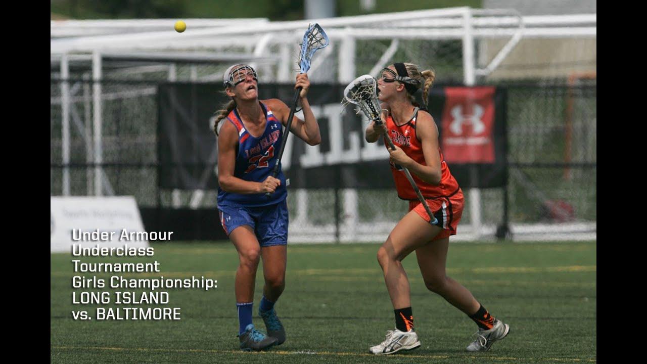 Underclass girls championship baltimore vs long island youtube