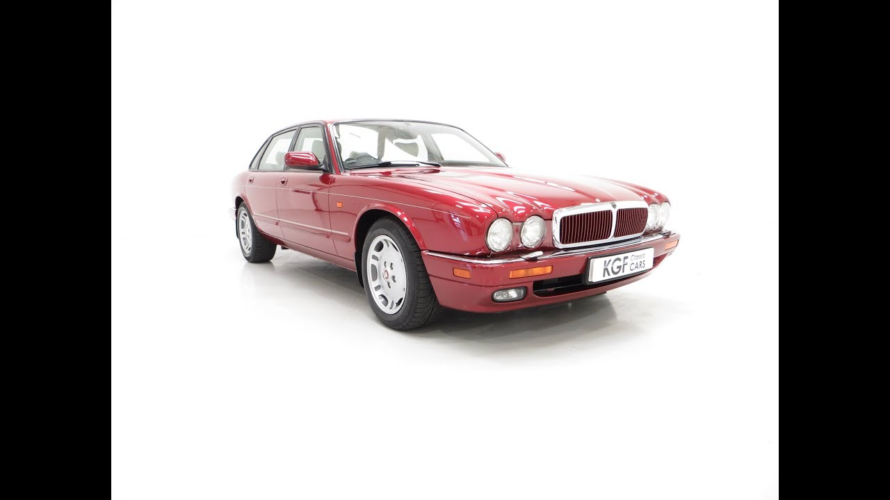 A Glorious Jaguar XJ6 Sport 3 2 with 54,185 Miles and One Former Keeper -  SOLD!