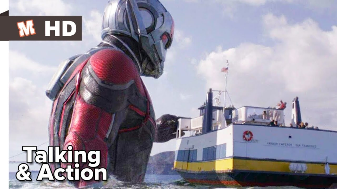 Download Ant Man And The Wasp Hindi Action Scene