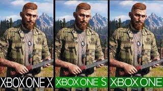 Far Cry 5   Xbox One x VS Xbox One s VS Xbox One   Graphics Comparison